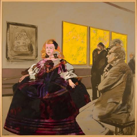 Infanta, Acrilico e olio su tela ( 2007 )